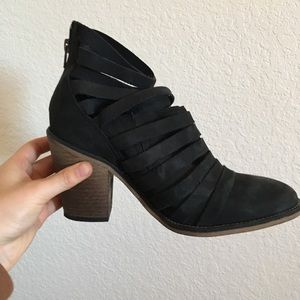 Free People Strappy Booties